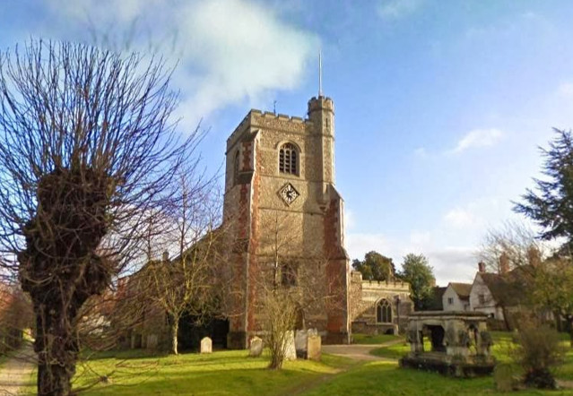 St. Mary and St. Lawrence Church, Great Waltham, England