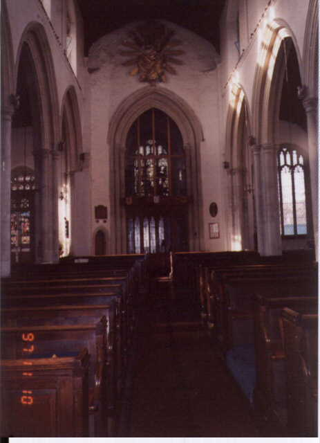 St. Mary's Church, Bocking, England (Interior)