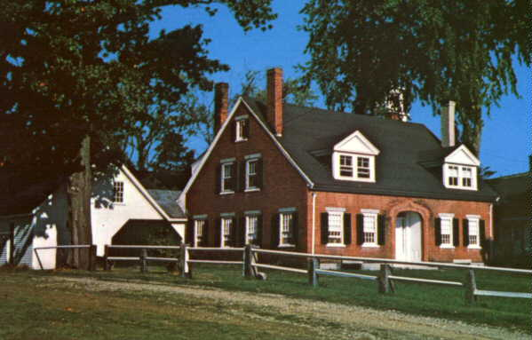 George Hoyt Whipple's birthplace
